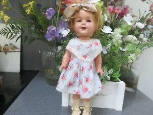 Antique 1930s AMERICAN IDEAL SHIRLEY TEMPLE ANTIQUE COMPOSITION DOLL