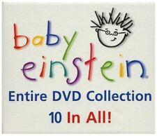 BABY EINSTEIN ENTIRE DVD COLLECTION 10 DVD Box Set FREE Shipping