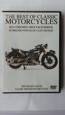 THE BEST OF CLASSIC MOTORCYCLES DVD BROUGH SUNBEAM DOUGLAS AJS RUDGE BSA TRIUMPH
