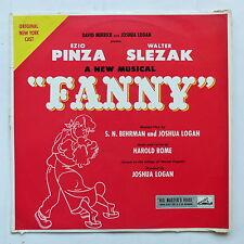 EZIO PINZA  WALTER SLEZAK A new musical Fanny BEHRMAN JOSHUA LOGAN CLP 1099