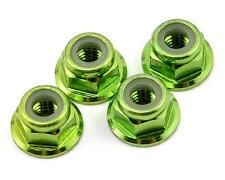 Traxxas 4mm Green Anodized Flanged Nylon Locking Nut TRA1747G