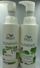 WELLA Elements Lightweight Renewing Shampoo and Conditioner 1000ml PUMPS
