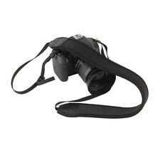 Bandoulière courroie sangle de cou NOIR pour reflex DSLR Nikon Canon Sony Panaso