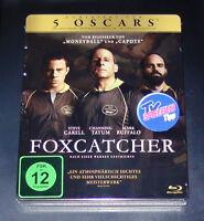 Foxcatcher Limitada Steelbook con Innendruck Blu Ray más Rápido Envío Nuevo