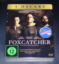 FOXCATCHER Limitada Steelbook con innendruck Blu-ray Envío rápido NUEVO
