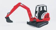 """bruder®   02432  """" Schaeff HR16 Minibagger  """",  NEU & OVP"""