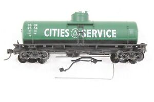 HO Walthers Cities Service CSOX 36ft Single Dome Tank Car Excellent Cond