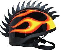 NEW PC RACING MX ATV Helmet Mohawk Motorcycle SAW BLADE - SPORTBIKE FREE SHIP