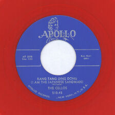 CELLOS: Rang Tang Ding Dong (i Am The Japanese Sandman) / You Took My Love 45 (