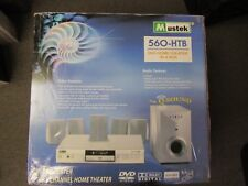 "Mustek Surround Sound System Dvd Home Theater In A Box ""New In Box"""