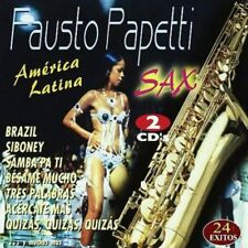 FAUSTO PAPETTI - AMERICA LATINA - SAX - 2 CDS [CD]