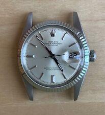 Rolex Datejust 1601 Steel White Gold Bezel Cal 1570 Circa 1975