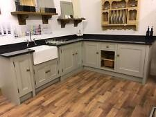 Kitchen Solid Wood Hand Made with Granite Top Hand painted