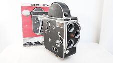 Vintage BOLEX PALLARD H16 Film Movie camera UNTESTED