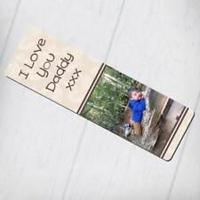 Segnalibro personalizzati-Design di foglie color crema con qualsiasi testo e foto