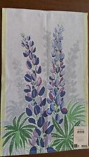 """100% Cotton Blomsterlupin Towel 16"""" x 24"""" by Ekelund"""