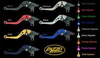 KAWASAKI 2007-2012 Z750 PAZZO RACING ADJUSTABLE LEVERS -  ALL COLORS / LENGTHS