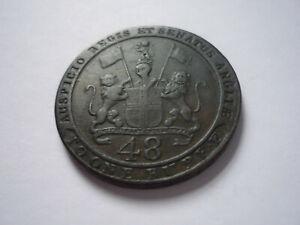 Ost Indien, East India:  1/48 Rupee ?, 1797.  Siehe Fotos