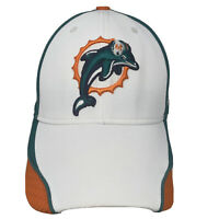Miami Dolphins Reebok NFL Onfield Football Fitted Hat Can Sz L / XL