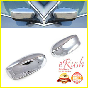 FOR 2008 2009 2010 2011 2012 HONDA ACCORD CHROME SIDE MIRROR COVER COVERS FAST