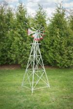 8 Foot Aluminum Windmill