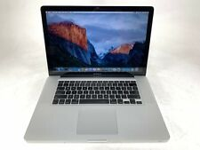 "Apple MacBook Pro A1286 15.4"" Mid 2009 Core 2 Duo 2.53GHz 4GB 250GB Laptop"