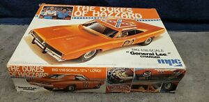 Vintage MPC The Dukes Of Hazzard General Lee Charger Big 1/16 Scale Parts Sealed