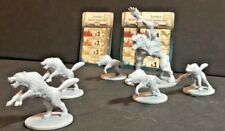 Zombicide Black Plague: Wolves attack pack CMoN: 5 wolves + 1 wolfbomination