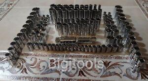 CRAFTSMAN Socket Set Hand tools 113Pc 1/4,3/8,1/2  SAE&MM ratchet wrench set new