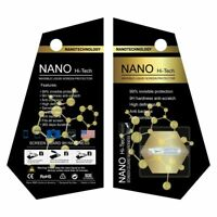 NANO Liquid Glass Screen Protector Universal Cell Phones HI Wipe-On Invisible