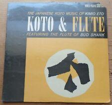 Kimio Eto/Bud Shank KOTO & FLUTE - World Pacific 1424 SEALED
