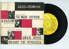 45 RPM EP JAZZ TEMPOS A.NICHOLAS M.L.WILLIAMS G.LAFITTE B.BANKS R.HAYNES