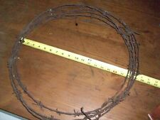 antique barbed wire 4 prong 1800s