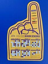 2014-15 LOS ANGELES LAKERS MAGNET SCHEDULE SKED SPORTSNET/ESPN LA 710/ESPN 1330