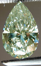 2.12ct vvs1/11.90mm WHITE ICE BLUE COLOR LOOSE PEAR REAL MOISSANITE for ring