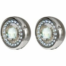 Yamaha Motorcycle LED Passing Lamps Retro Fit Kit Chrome 5VN-H54A0-S0-00