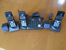 Panasonic Kx-Tg6700 5.8 Ghz 2-Line Phone System w/ 3 handsets - Great Condition!