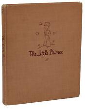 The Little Prince ANTOINE DE SAINT-EXUPERY ~ First Edition 1st Print 1943 Reynal