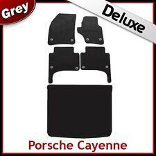 PORSCHE Cayenne 03-09 su misura LUSSO 1300g auto + le stuoie di avvio (ROUND clip) Grigio