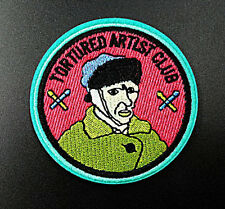 Tortured Artist Club Van Gogh Embroidered Iron On Patches Badges Transfers Patch