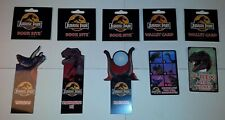 Jurassic Park 1993 Lot of 5 Book Bite and Wallet Card (bookmarks & cards)