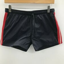 New Antony Morato Shorts Womens Size UK 16 Navy Red Sporty Striped 261265