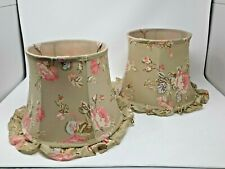 Print Hand Made Fabric Bell Lamp Shade for Table Lamp 25x13x11 floral