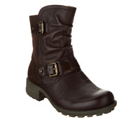 Earth Origins Leather Mid Boots Patrice Java US 7.5 M