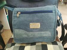DIESEL elegant dark blue denim men's shoulder bag, GREAT CONDITION!