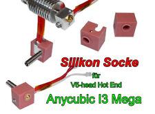 Silikon Socke für V5 J-Head Hot End.Anycubic I3 Mega  2 Stück.