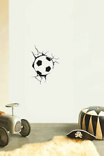 FOOTBALL No2 Children's bedroom nursery vinyl sticker wall transfer soccer decor