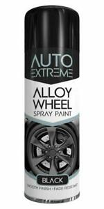 300ml Alloy Wheel Black Spray Paint Resistant