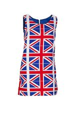 Union Jack DESIGNER 60s Style Shift Dress