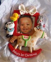 Christmas Ornament Hallmark Keepsake Baby's First Christmas 2012 NEW NIB